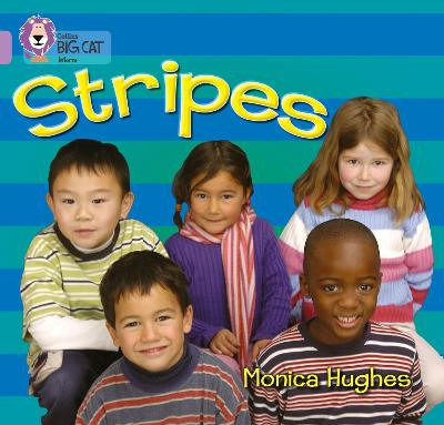 Stripes Band 00/Lilac by Monica Hughes