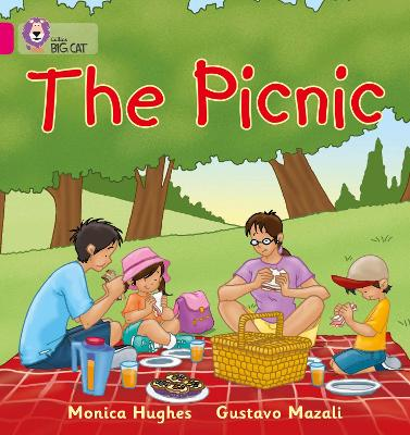 The Picnic Band 01a/Pink a by Monica Hughes