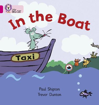 In the Boat Band 01a/Pink a by Paul Shipton