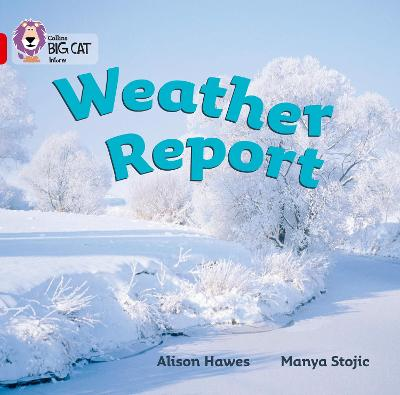 Weather Report Band 02a/Red a by Alison Hawes
