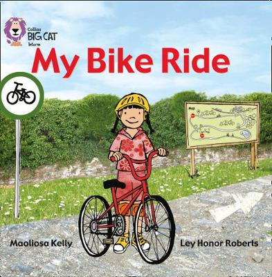 My Bike Ride Band 02a/Red a by Maoliosa Kelly