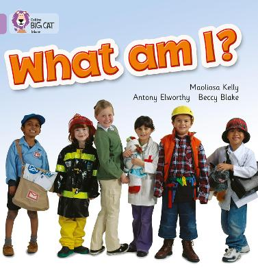 What Am I? Band 00/Lilac by Maoliosa Kelly