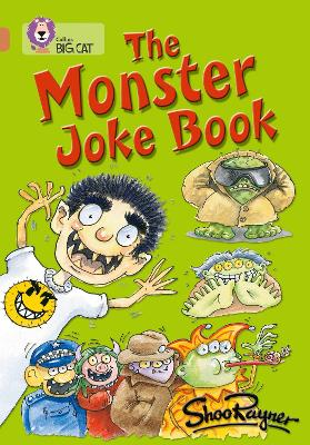 The Monster Joke Book Band 12/Copper by Shoo Rayner