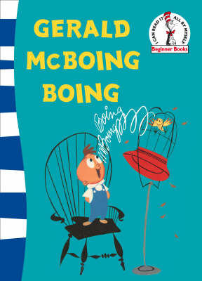 Gerald McBoing Boing Green Back Book by Dr. Seuss
