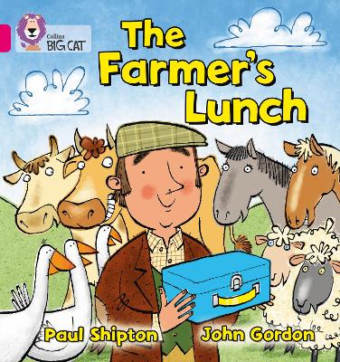 The Farmer's Lunch Band 01a/Pink a by Paul Shipton, John Gordon