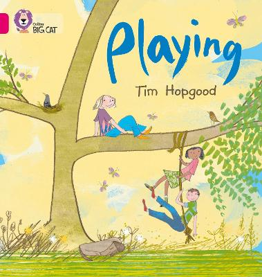 Playing Band 01b/Pink B by Tim Hopgood