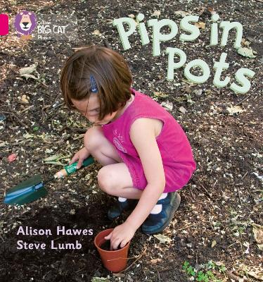 Pips in Pots Band 01b/Pink B by Alison Hawes, Steve Lumb