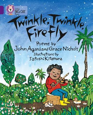 Twinkle, Twinkle, Firefly Band 08/Purple by John Agard, Grace Nicholls, Satoshi Kitamura
