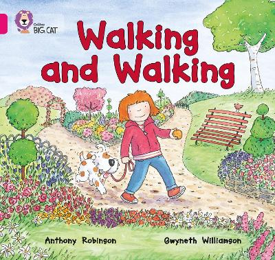 Walking and Walking Band 01a/Pink a by Anthony Robinson