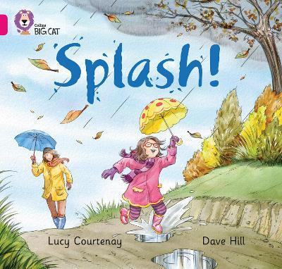 Splash Band 01b/Pink B by Lucy Courtenay