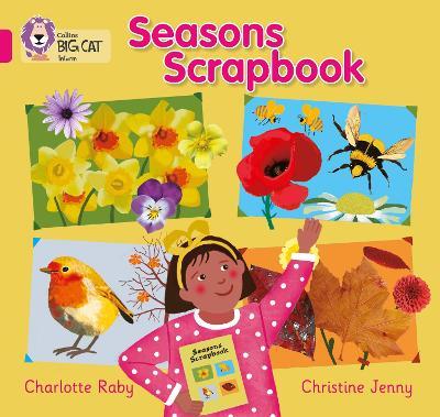 Seasons Scrapbook Band 01b/Pink B by Charlotte Raby