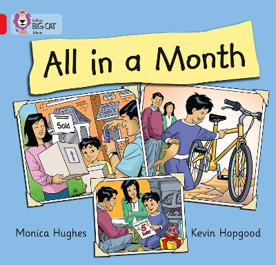 All in a Month Band 02b/Red B by Monica Hughes