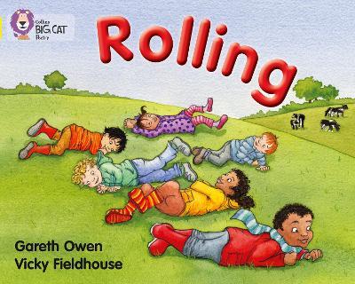 Rolling Band 03/Yellow by Gareth Owen