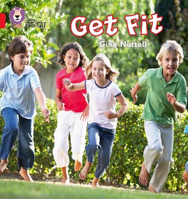 Get Fit Band 02a/Red a by Gina Nuttall