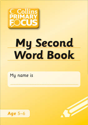 My Second Word Book Spelling by