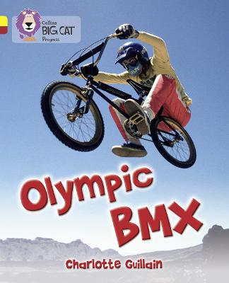Olympic BMX Band 03 Yellow/Band 14 Ruby by Charlotte Guillain