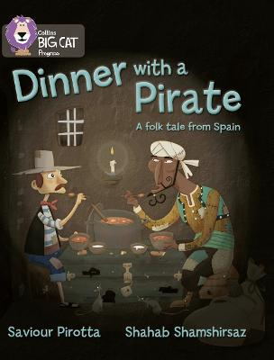 Dinner with a Pirate Band 04 Blue/Band 14 Ruby by Saviour Pirotta