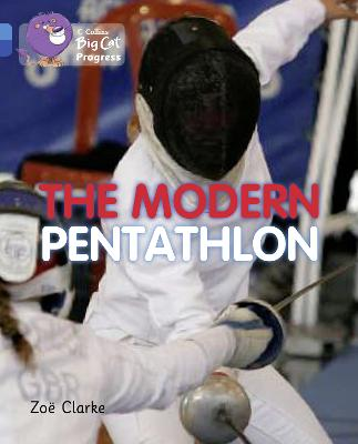 The Modern Pentathlon Band 04 Blue/Band 16 Sapphire by Zoe Clarke