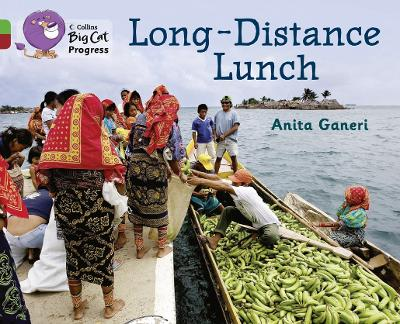 Long-distance Lunch Band 05 Green/Band 14 Ruby by Anita Ganeri
