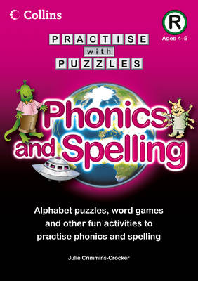 Book R Phonics and Spelling by Julie Crimmins-Crocker