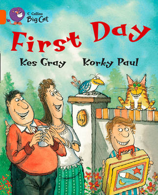 First Day Band 06/Orange by Kes Gray