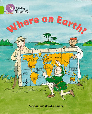 Where on Earth? Band 11/Lime by Scoular Anderson
