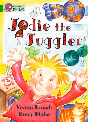 Jodie the Juggler Band 05/Green by Vivian French