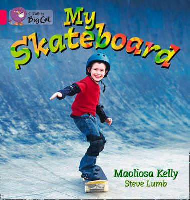 My Skateboard Band 01a/Pink a by Maoliosa Kelly