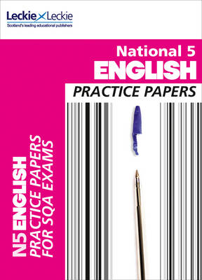 National 5 English Practice Papers for SQA Exams by Craig Aitchison