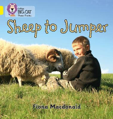 Sheep to Jumper Band 03/Yellow by Fiona MacDonald