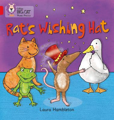 RAT'S WISHING HAT Band 02b/Red B by Laura Hambleton