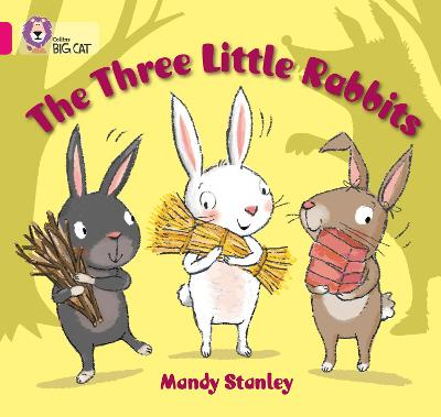 The Three Little Rabbits Band 01b/Pink B by Mandy Stanley