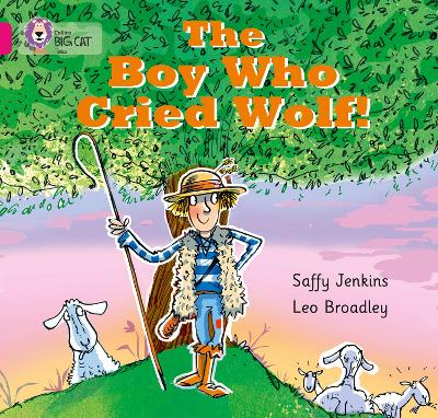 The Boy who Cried Wolf Band 01b/Pink B by Saffy Jenkins