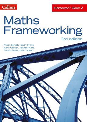 KS3 Maths Homework Book 2 by Peter Derych, Kevin Evans, Keith Gordon, Michael Kent