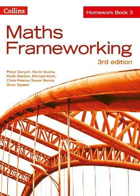 KS3 Maths Homework Book 3 by Peter Derych, Kevin Evans, Keith Gordon, Michael Kent