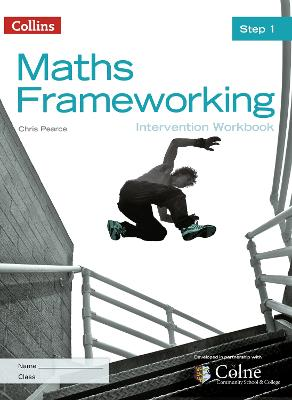 KS3 Maths Intervention Step 1 Workbook by Chris Pearce
