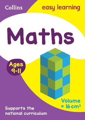 Maths Ages 9-11 by Collins Easy Learning