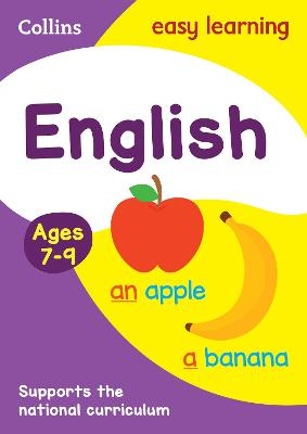 English Ages 7-9 by Collins Easy Learning