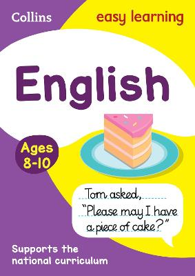 English Ages 8-10 by Collins Easy Learning