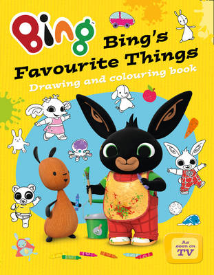 Bing's Favourite Things drawing and colouring book by