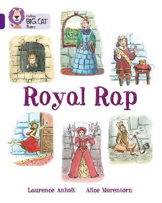 Royal Rap Band 08/Purple by Laurence Amholt