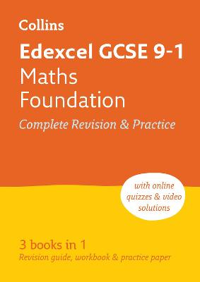 Edexcel GCSE Maths Foundation All-in-One Revision and Practice by Collins GCSE