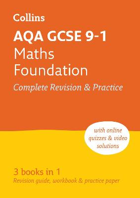 AQA GCSE Maths Foundation All-in-One Revision and Practice by Collins GCSE