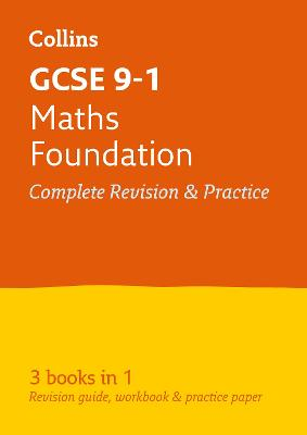 GCSE Maths Foundation All-in-One Revision and Practice by Collins GCSE