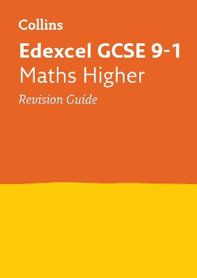 Edexcel GCSE Maths Higher Revision Guide by Collins GCSE