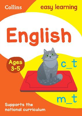 English Ages 4-5: New Edition by Collins Easy Learning