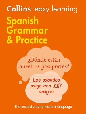 Easy Learning Spanish Grammar and Practice by Collins Dictionaries