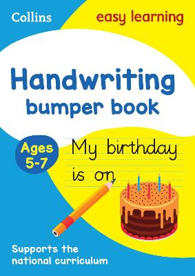 Handwriting Bumper Book Ages 5-7 by Collins Easy Learning