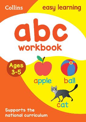 ABC Workbook Ages 3-5: New Edition by Collins Easy Learning