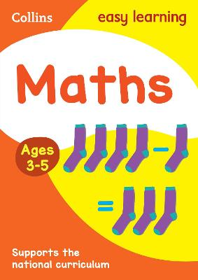 Maths Ages 4-5: New Edition by Collins Easy Learning